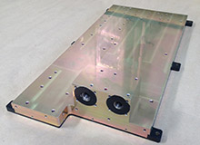 Custom Aluminum Chill Plate for the Defense Industry