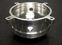 Custom 6061 Aluminum Manifold for the Semiconductor Industry
